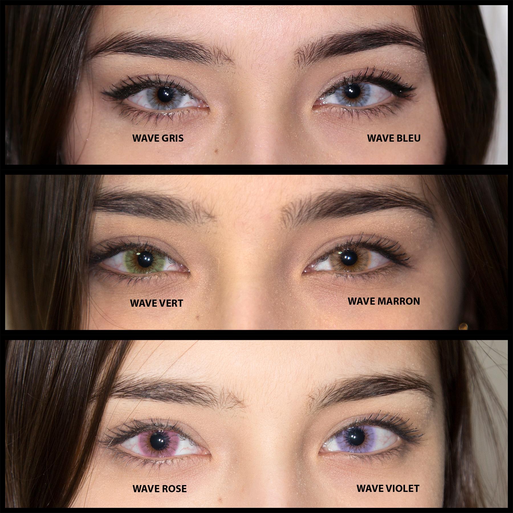 Lentille de couleur : faites briller vos yeux